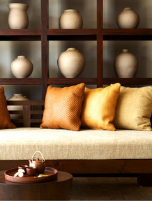 Punta_cana_orange_pillow_in